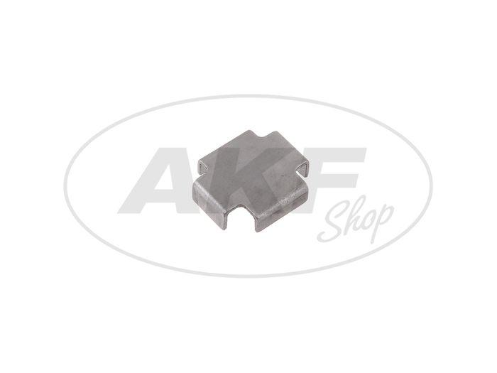 Bremsbackenzwischenlage 1,0 mm Simson S51, S50, SR50, Schwalbe KR51, SR4