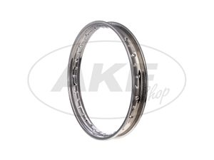 Item Image Rim steel, chrome plated 1.85 x 19