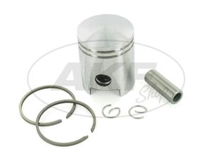 Item Image Piston Ø40,97 (gray with special retraction coating) - Simson S51, S53, KR51 / 2 Schwalbe, SR50