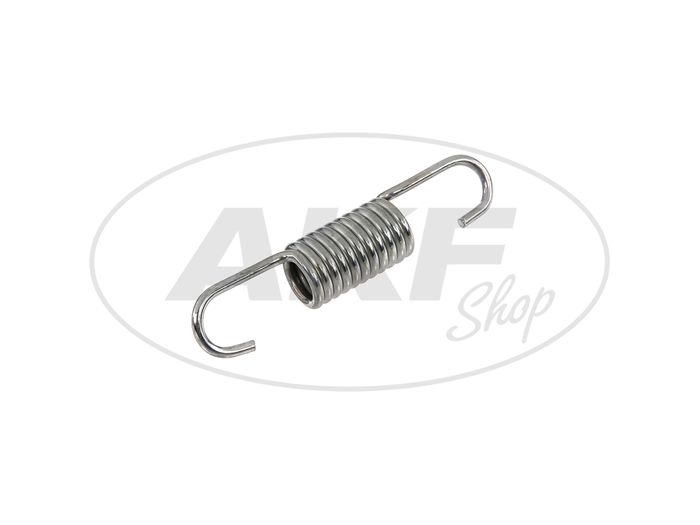 Spring for foot brake lever (tension spring) - for Simson S51, S50, S53, S70, S83 - Image #1