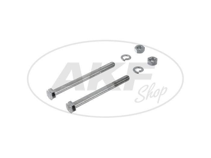 Set: Sechskantschrauben für  Motoraufhängung Schwalbe KR51/2, S51, S50, S53, S70, S83 - Bild #1