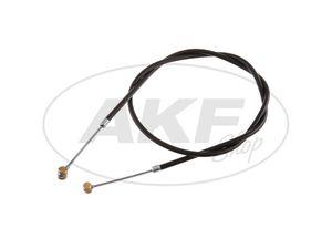 Item Image Brake cable front, black, full hub - for RT125 / 2, RT125 / 3