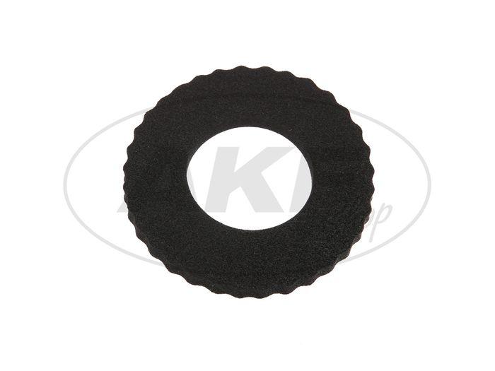 Tankschutzring aus Moosgummi - für Moped (120 x 60) Schwarz - Bild #1
