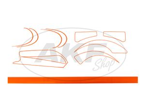 Item Image Line set SR2, SR2E orange