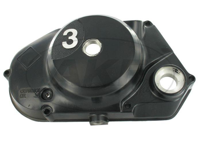 Kupplungsdeckel 3-Gang - schwarz Motor-Typ M531 - Bild #1