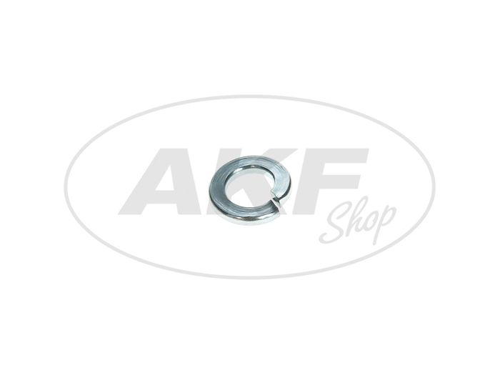 Washer - B6 spring washer 6,1 galvanized, form B, DIN 127 - Image #1