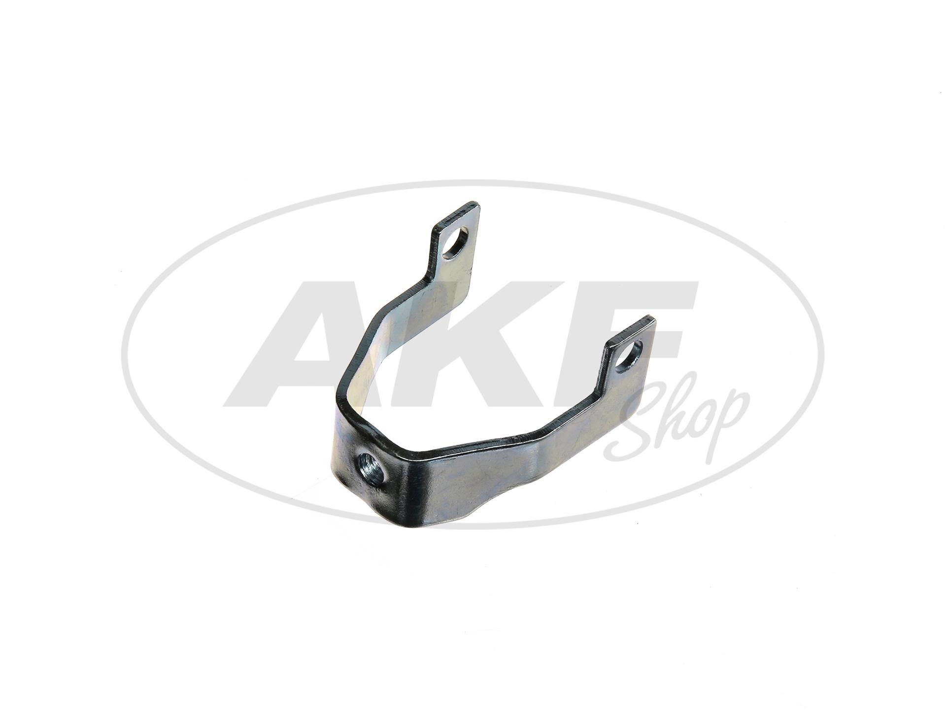 Zoom Ansicht Halteschelle vorn für Hitzeschutz - für Simson S51, S70, S53, S83 Enduro