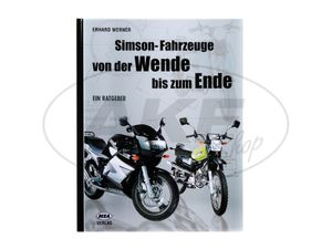 """Item Image Book - """"Simson vehicles from the turn to the end"""""""