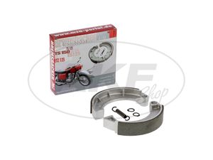 Item Image Set: Brake shoes - 2 pieces with spring + locking ring, for Ø150 mm - MZ ES, ETZ, TS, RT