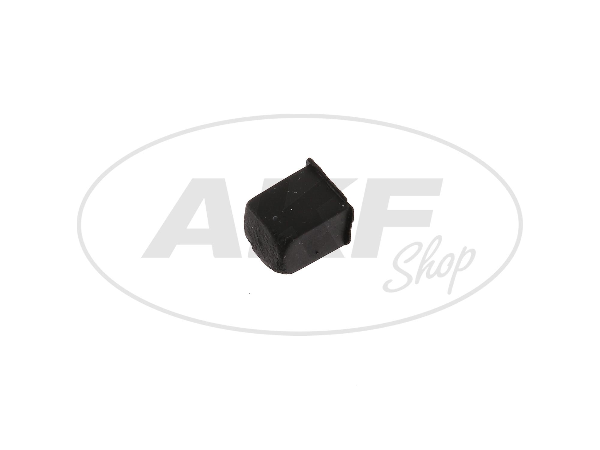 Zoom Ansicht Gummistopfen für Kippständer - Simson S51, S53, S70, S83, SR50, SR80, Schwalbe KR51, SR4