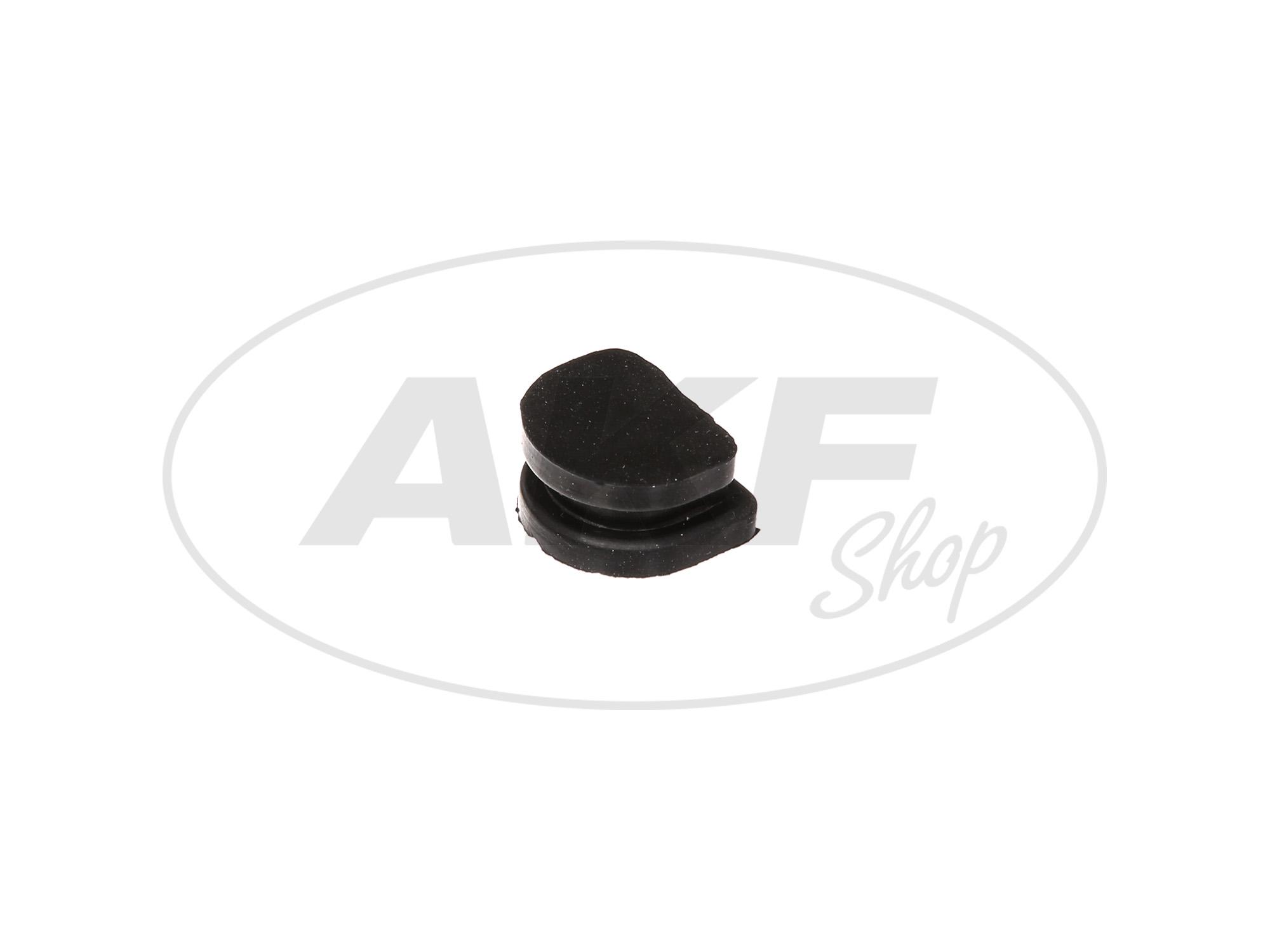 Zoom Ansicht Verschlußstopfen ohne Bohrung, Gummi - für Simson S51, KR51/2 Schwalbe, SR50, S53, S70, S83, SR80
