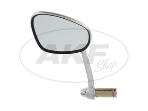 Item Image Mirror kidney shape, left, handlebar mounting