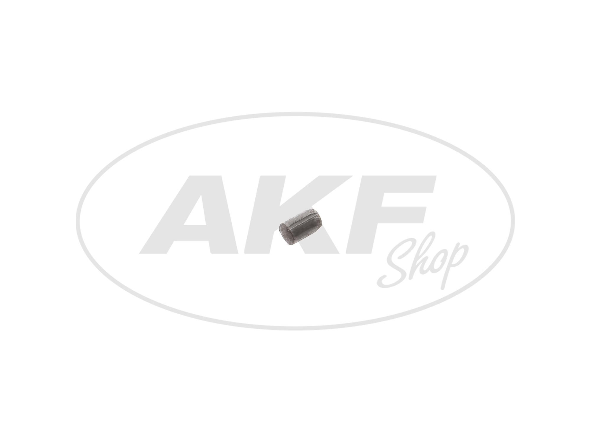 Zoom Ansicht Kerbstift 4x6 DIN1473 für Federaufnahme Telegabel - Simson S51, S50, S70, S53, S83, SR50, SR80