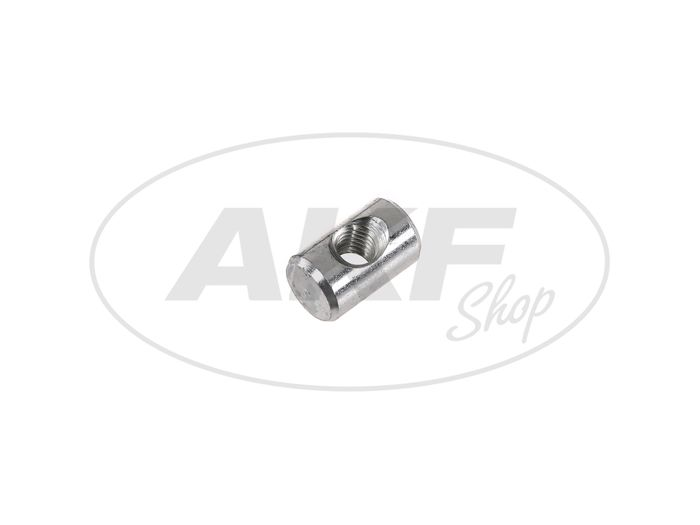 Bracket adjusting nut galvanized f. Braking rod - Simson S51, S50, S53, Schwalbe KR51 / 2 - Image #1