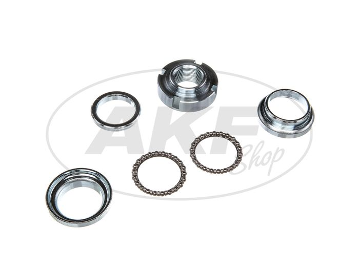 Steering bearing set, 6-piece for Simson S50, S51, S53, SR50, SR80 - Image #1