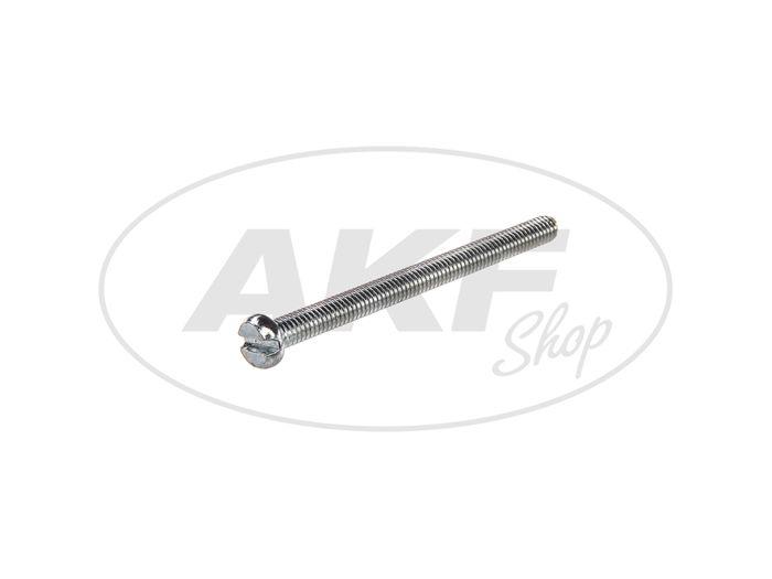 Cylinder screw, slot M4x50 - DIN84 - Image #1
