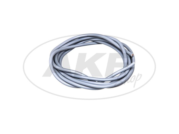 Cable - Gray 0,50mm² Vehicle cable - 1m - Image #1