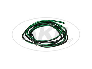 Item Image Cable - Black / Green 0,50mm² Vehicle cable - 1m