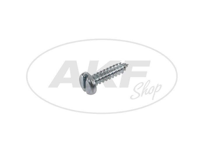 Cylindrical metal screw, slot 5,5x22 - DIN7971 - Image #1