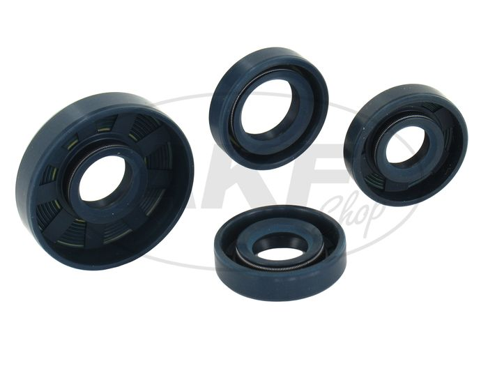 Set: shaft seal motor kpl, blue - for Simson SR1, SR2 - Image #1