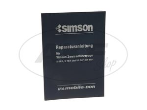 Item Image Book - Repair Instructions Simson S51, S70, SR50, SR80