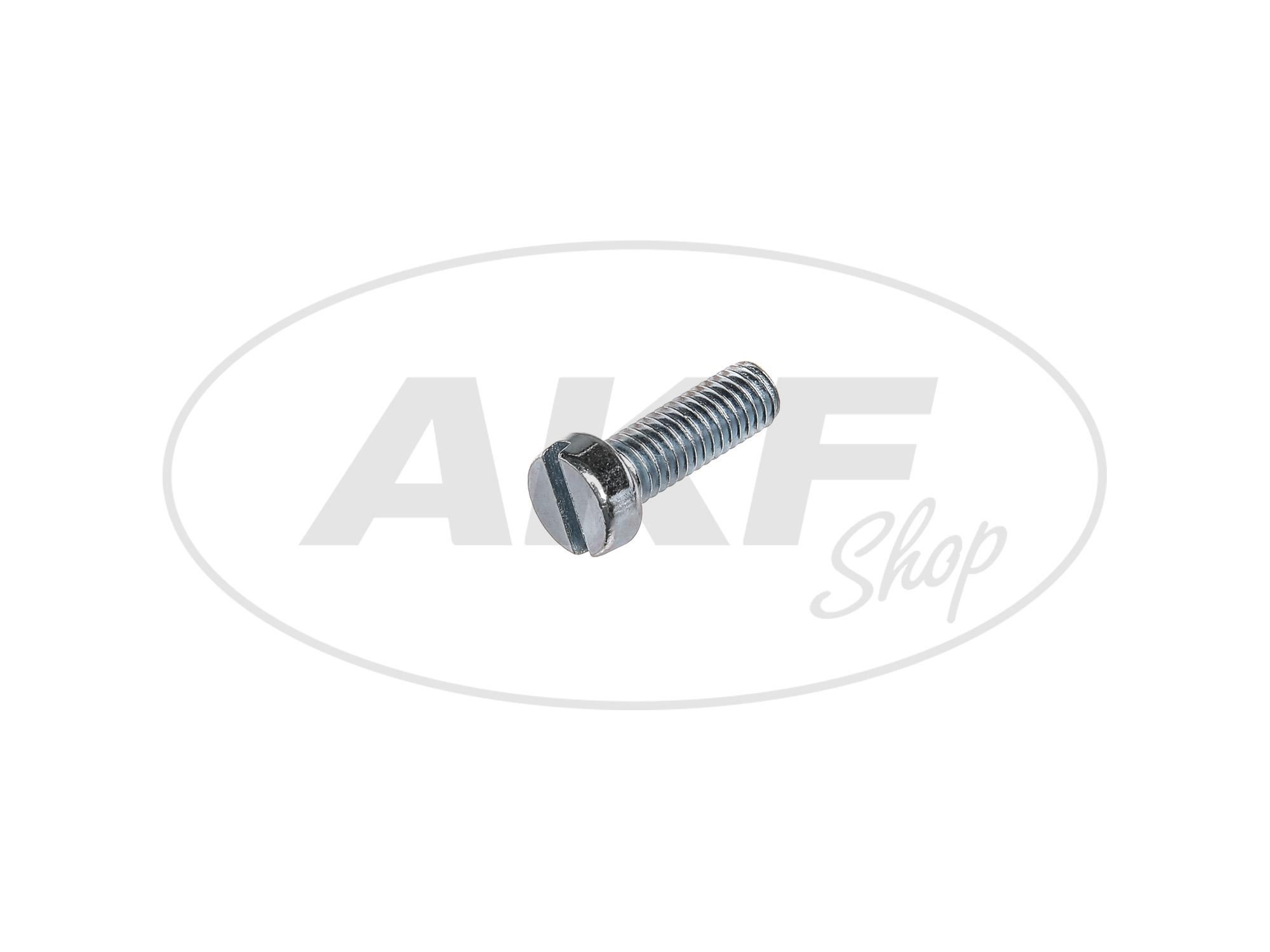 Zoom Ansicht Zylinderschraube, Schlitz M6x18 - DIN84