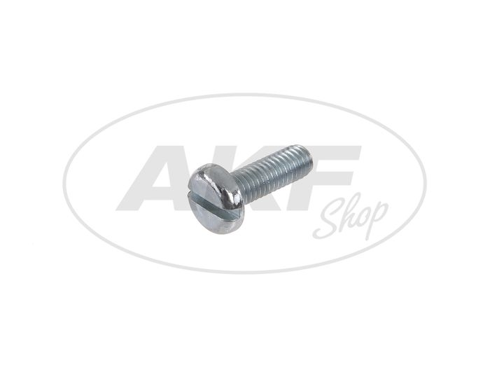 Flat head screw, slot M6x18 - DIN85 - Image #1