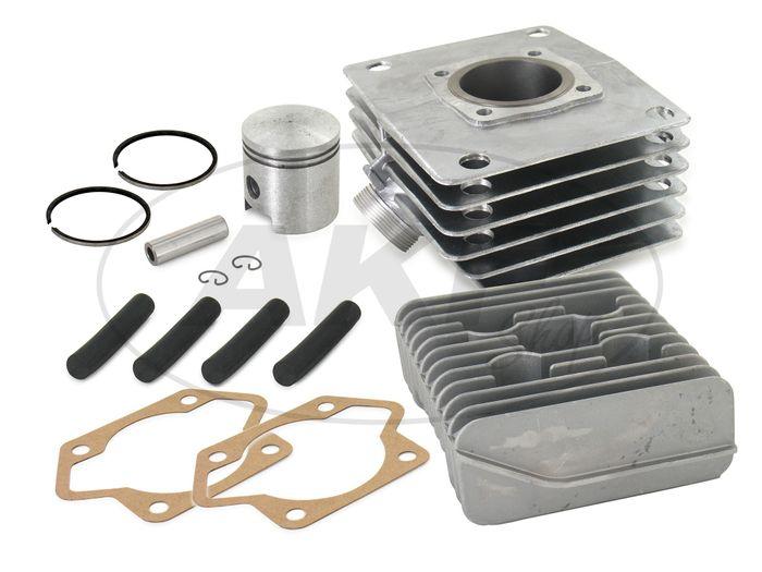 Set: cylinder + piston + head, 80cc, strong bush - Simson S70, S83, SR80 - Image #1