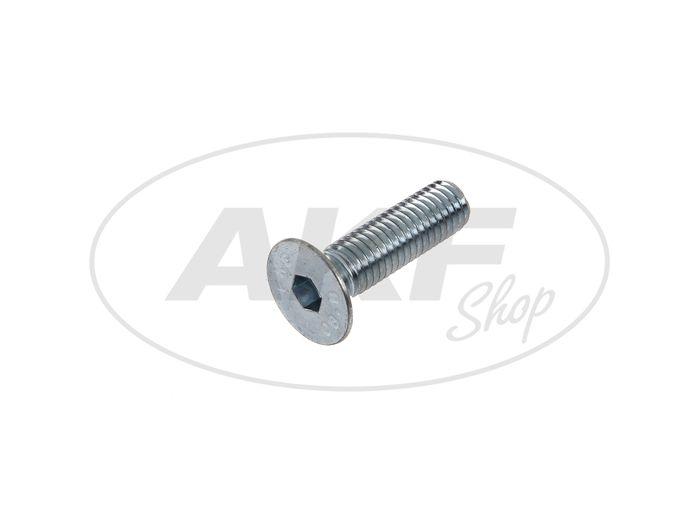 Countersunk screw, hexagon socket M8x30 - DIN7991 - Image #1