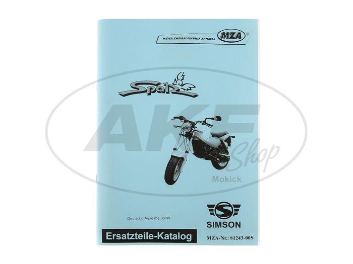 Ersatzteilkatalog Mokick Spatz Ausgabe 1999 - Bild #1