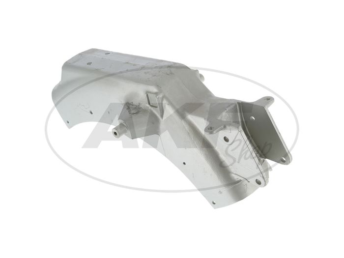 Sattelträger - vollständig mit Kabelschellen - MZ TS125, TS150 - Bild #1