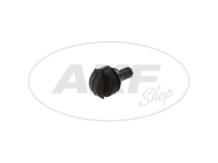 Suspension rubber for flasher unit and control unit - MZ ETZ 125, 150, 250, 251, 301 - Image #1
