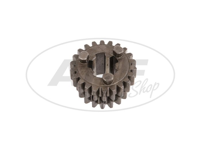 Gear shift, 18 tooth, 2nd and 4th gear - MZ ES125, ES150, ETS125, ETS150, TS125, TS150, RT125 / 3 - IWL TR150 Troll - Image #1