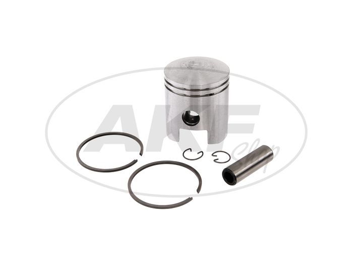 Piston for cylinder Ø56,00 - for MZ TS150, ES150, ETS150 - IWL SR59 Berlin, TR150 Troll - Image #1