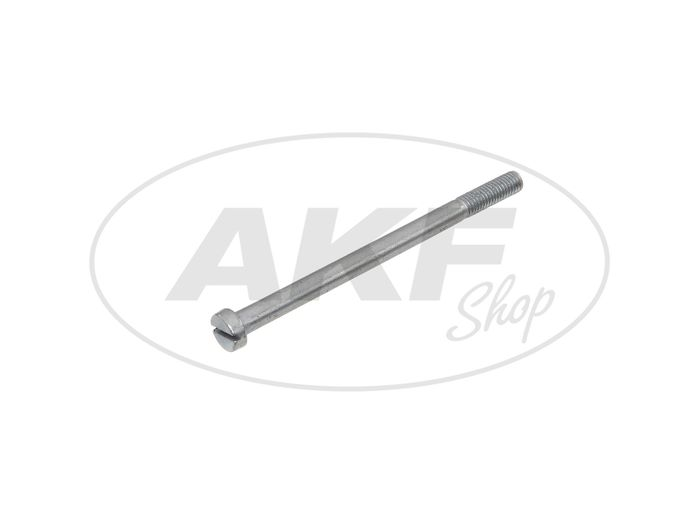 Cylinder screw slot, with shank M5x75 - DIN84 - Image #1