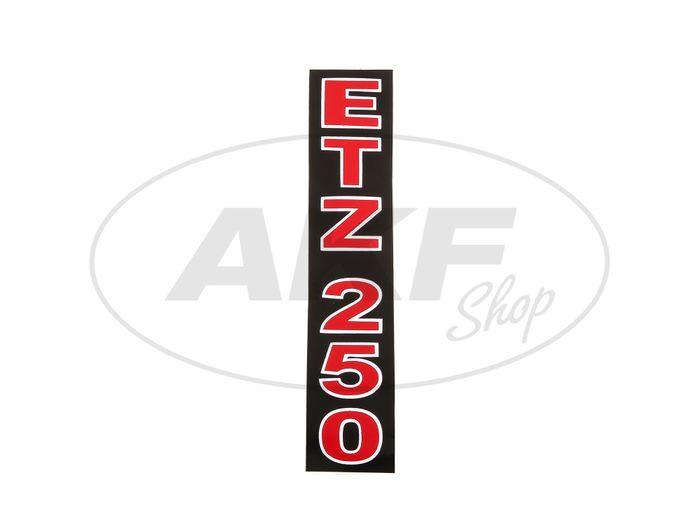 Adhesive film Telegabelholm - Red / Black / White ETZ 250 - Image #1
