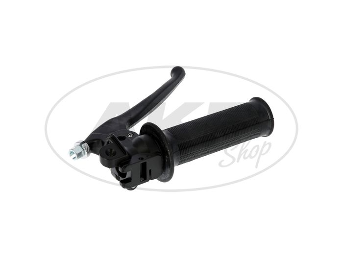 Gas Rotating Handle with Faucet in Black - for Simson KR51 Swallow, SR4-2 Star, SR4-3 Sperber, SR4-4 Habicht - Image #1