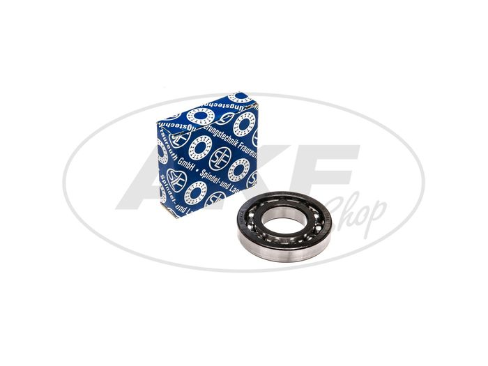 Ball bearing 16004 C4, output shaft left. - for Simson S51, S70, S53, S83, KR51 / 2 swallow, SR50, SR80 - Image #1