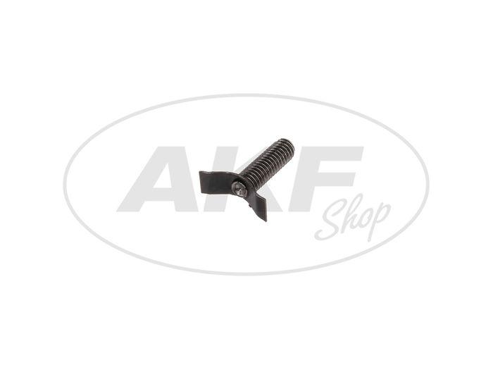Blattfeder mit Schraube für Gasdrehgriff - für Simson S50, S51, S70, SR50, SR80 - Bild #1