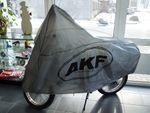 "Bild #1 Abdeckplane ""AKF"" für Moped - grau"