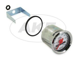 Tachometer Ø48mm für KR bis 100 km/h - weißes Ziffernblatt -  Bild 1