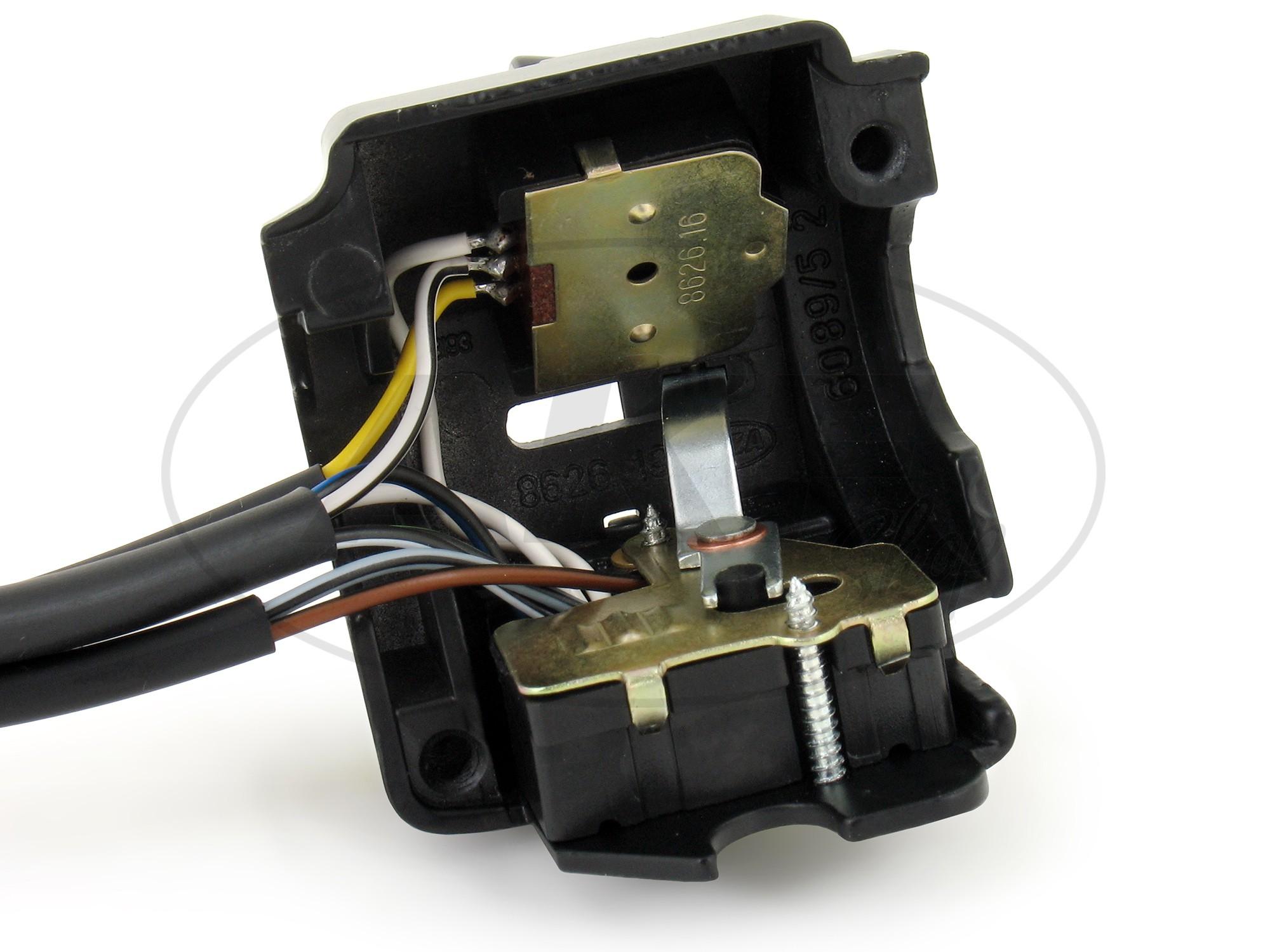 Schalterkombination 8626.19/3 mit Kabel und Lichthupe, 6 + 12V ...