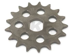 Item Image Pinion RESO, small sprocket, tuning 17 Tooth - for Simson S51, S70, S53, S83, KR51 / 2 Swallow, SR50, SR80