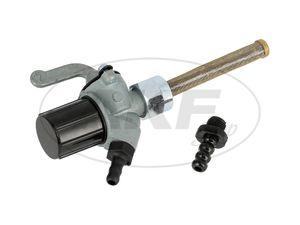 Artikelbild Benzinhahn EHR mit Wassersack, Schlauchstutzen 8 + 6mm - MZ ETZ, TS