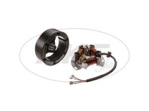 Item Image Flywheel primary igniter SLPZ 8307.3 / 3 complete, intermittent ignition, 6V 25/25 W Bilux - Duo