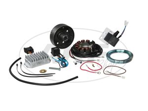 Item Image 12V 100W photoelectric ignition system with integrated electronic fuse for MZ RT125