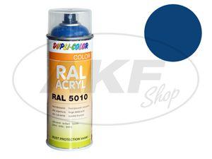 Item Image Dupli-Color acrylic spray RAL 5019 capriblau, glossy - 400 ml