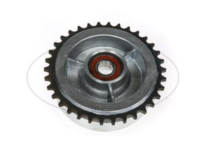 Item Image Sprocket drive, 34 Toothed with ball bearing (closed on both sides) 6203 C3 2Z - for for Simson S50, S51, KR51 swallow, SR4, Duo
