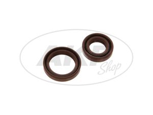 Item Image Set: shaft seal rings engine kpl, brown - Simson SL1 Mofa
