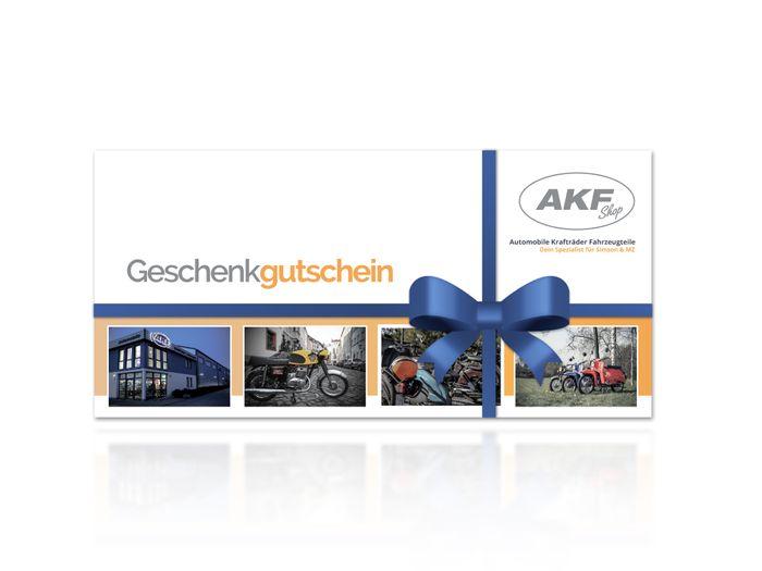 AKF Geschenk Gutschein zum Ausdrucken über 15 Euro - Bild #1